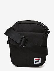 FILA - MILAN PUSHER BAG2 - olkalaukut - black - 0