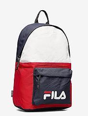FILA - NEW BACKPACK S´COOL TWO - rugzakken - black iris-true red-bright white - 2