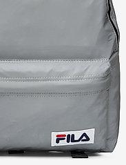 FILA - MINI BACKPACK MALMÖ reflectice - treenikassit - silver reflective - 3