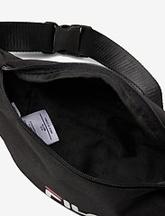 FILA - WAIST BAG SLIM (small logo) - vyölaukut - black - 3