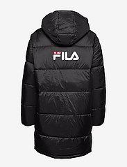FILA - WOMEN BRONWEN puff hood jacket - wyściełane płaszcze - 002 - black - 2