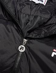 FILA - WOMEN BRONWEN puff hood jacket - wyściełane płaszcze - 002 - black - 3