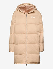 FILA - WOMEN BRONWEN puff hood jacket - dunkappor - irish cream - 0