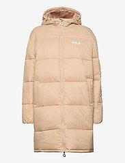 FILA - WOMEN BRONWEN puff hood jacket - dunkappor - irish cream - 1