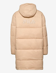 FILA - WOMEN BRONWEN puff hood jacket - dunkappor - irish cream - 2