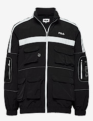 FILA - MEN UBA wind jacket - kurtki-wiosenne - black - 0