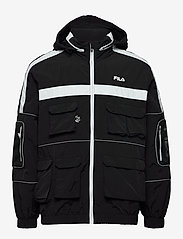 FILA - MEN UBA wind jacket - kurtki-wiosenne - black - 2