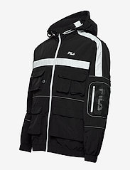 FILA - MEN UBA wind jacket - kurtki-wiosenne - black - 4