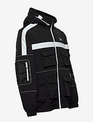 FILA - MEN UBA wind jacket - kurtki-wiosenne - black - 5