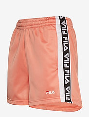 FILA - WOMEN TARIN shorts - high waist - casual shorts - lobster bisque-bright white - 2
