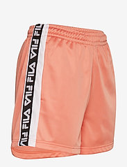 FILA - WOMEN TARIN shorts - high waist - casual shorts - lobster bisque-bright white - 3