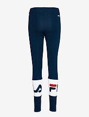 FILA - WOMEN BALLARI leggings - tights & shorts - black iris-bright white - 1