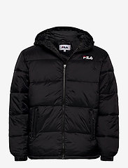 SCOOTER puffer jacket - BLACK