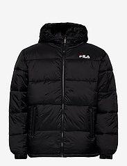 FILA - SCOOTER puffer jacket - veste sport - black - 1