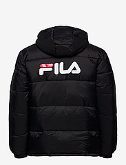 FILA - SCOOTER puffer jacket - veste sport - black - 2