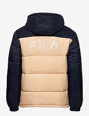 FILA - SCOOTER puffer jacket - veste sport - irish cream-black iris - 2