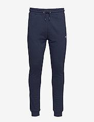 FILA - MEN EDAN sweat pants - treenihousut - black iris - 0