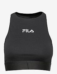 FILA - WOMEN ELITA top - crop tops - black - 0
