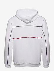 FILA - MEN ANALU blocked hoody - pulls a capuche - bright white - 1