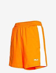 FILA - WOMEN ALLETE high waist shorts - chaussures de course - flame orange-bright white - 2