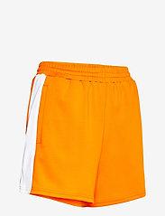 FILA - WOMEN ALLETE high waist shorts - chaussures de course - flame orange-bright white - 3