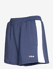 FILA - WOMEN ALLETE high waist shorts - chaussures de course - black iris-bright white - 2