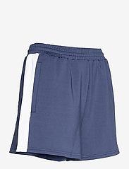 FILA - WOMEN ALLETE high waist shorts - chaussures de course - black iris-bright white - 3