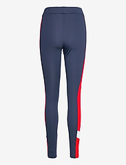 FILA - WOMEN ALYA blocked tights - collants d'entraînement - black iris-true red-bright white - 1
