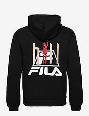 FILA - MEN FYODOR hoody - pulls a capuche - black - 1