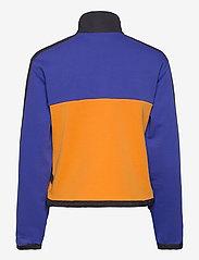 FILA - WOMEN CALANTHE sweat jacket - sweats et sweats à capuche - clematis blue-flame orange-black - 1