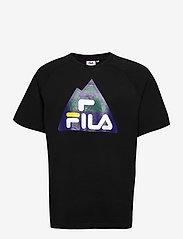 FILA - MEN CHENG raglan tee - t-shirts - black - 0