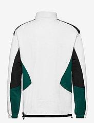 FILA - MEN CLEM half-zip sweat shirt - sweats - blanc de blanc-black-storm - 1