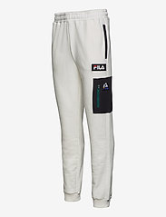 FILA - MEN CLEM sweat pants - treenihousut - blanc de blanc-black - 2