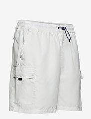 FILA - MEN COLM woven shorts - short décontracté - blanc de blanc - 3