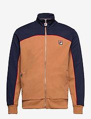FILA - MEN HAVERD track jacket - sweats - black iris-hazel - 0