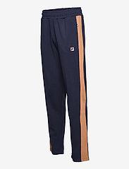 FILA - MEN HAVERD track pants - sale - black iris-hazel - 2