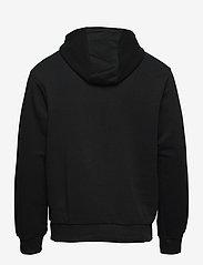 FILA - MEN SAVVA hoody - pulls a capuche - black - 1
