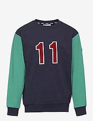 FILA - KIDS BOYS PAOLO crew neck - sweatshirts - black iris-alhambra - 0