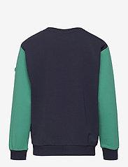 FILA - KIDS BOYS PAOLO crew neck - sweatshirts - black iris-alhambra - 1