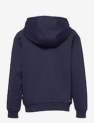 FILA - KIDS UNISEX BRUTUS basic logo hoody - hoodies - black iris-bright white - 1