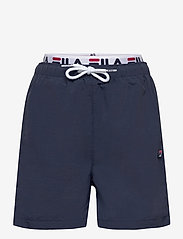 FILA - TEENS BOYS RENE swim shorts - bademode - black iris - 0