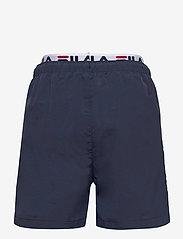 FILA - TEENS BOYS RENE swim shorts - bademode - black iris - 1