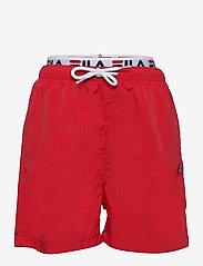 TEENS BOYS RENE swim shorts - TRUE RED