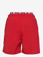 FILA - TEENS BOYS RENE swim shorts - bademode - true red - 1