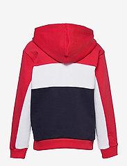 FILA - TEENS GIRLS TRACY hoody - hoodies - black iris-true red-bright white - 1