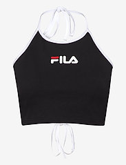 FILA - WOMEN BEBE halter neck top - crop tops - black - 0