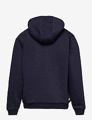 FILA - TEENS UNISEX ANDREY classic logo hoody - hoodies - black iris - 1