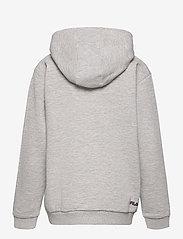 FILA - TEENS UNISEX ANDREY classic logo hoody - hoodies - light grey melange bros - 2