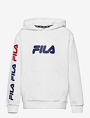 FILA - TEENS BOYS VITOR hoody - hoodies - bright white - 0