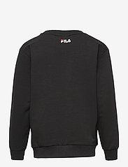 FILA - KIDS UNISEX TIM logo crew shirt - sweatshirts - black - 1